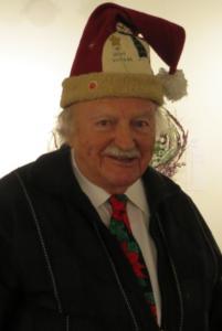 Bill's Santa hat