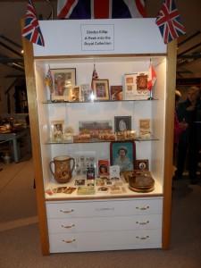 A Royal display
